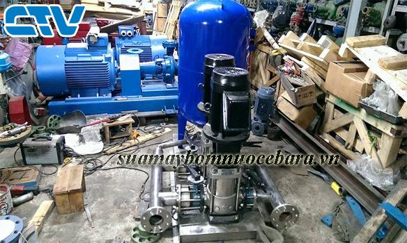 Sửa máy bơm trục đứng Ebara