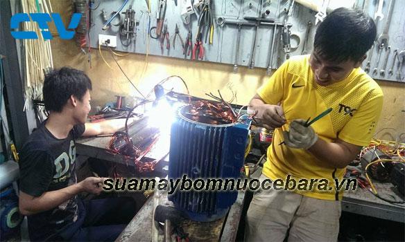 Dịch vụ sửa máy bơm ly tâm Ebara uy tín, chất lượng tốt cho các khách hàng tại Miền Bắc