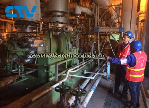 Sửa hệ thống máy bơm cấp nước sinh hoạt Ebara cho các khách hàng tại Miền Bắc