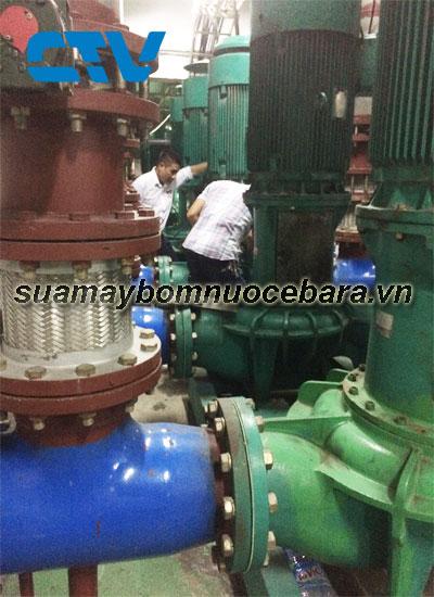 Sửa hệ thống máy bơm giải nhiệt Chiller Ebara