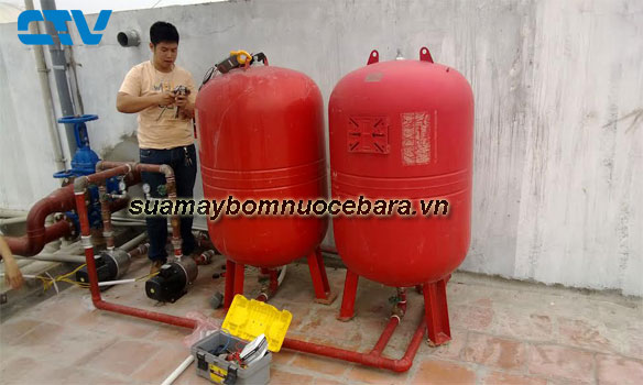 Sửa hệ thống máy bơm tăng áp Ebara nhanh chóng cho các khách hàng Miền Bắc