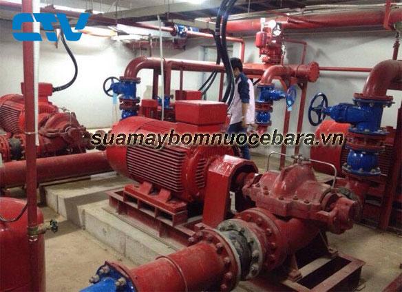 Sửa hệ thống máy bơm cứu hỏa Ebara chuyên nghiệp, giá rẻ