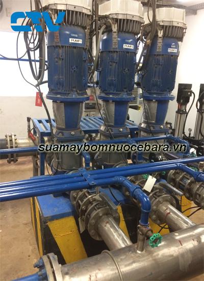 Dịch vụ sửa máy bơm trục đứng Ebara giá rẻ cho các khách hàng trên toàn quốc