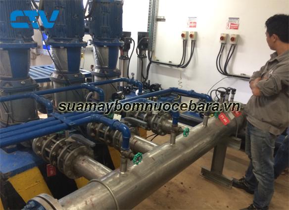 Khắc phục sự cố xảy ra với các hệ thống máy bơm cấp nước sinh hoạt Ebara