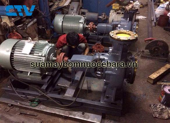 Đơn vị sửa máy bơm trục ngang Ebara giá rẻ tại Hà Nội