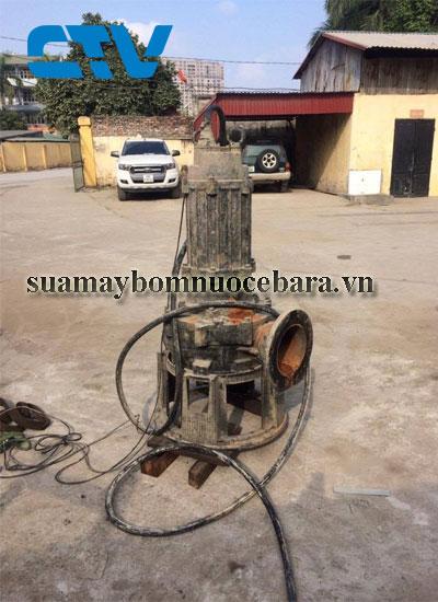 Dịch vụ sửa máy bơm thả chìm nước thải Ebara nhanh chóng tại Hà Nội