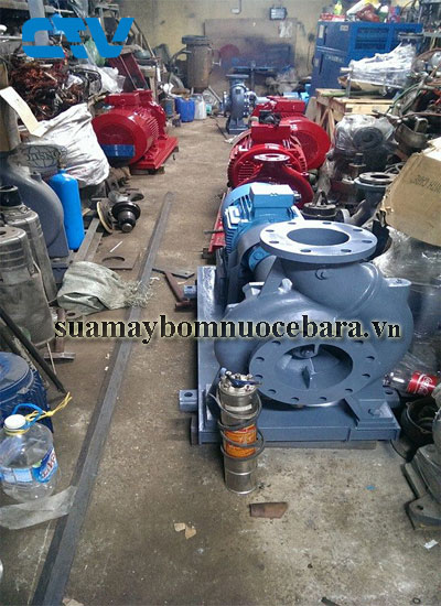 Sửa máy bơm trục ngang Ebara giá tốt tại Hà Nội