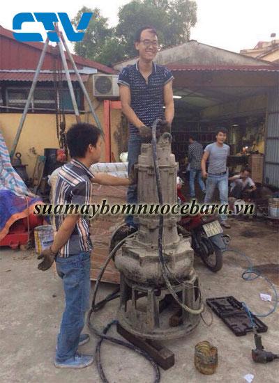 Sửa máy bơm nước thải Ebara tại Miền Bắc
