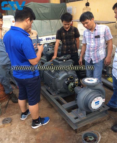 Sửa máy bơm ly tâm Ebara nhanh chóng, giá tốt cho các khách hàng tại Hà Nội