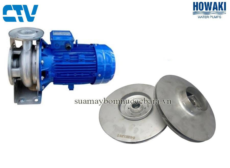 Cánh bơm nước Howaki 3M 32-160 2,2 Kw