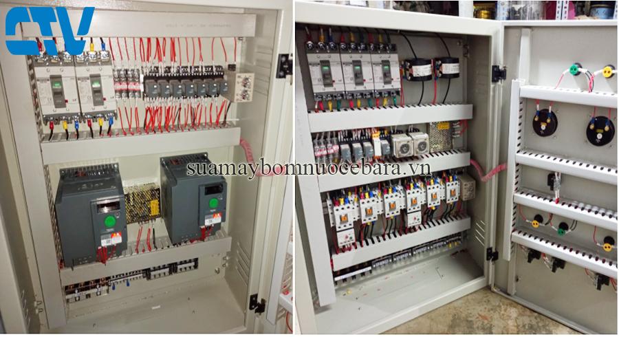 Tủ điện điều khiển hệ thống máy bơm công nghiệp